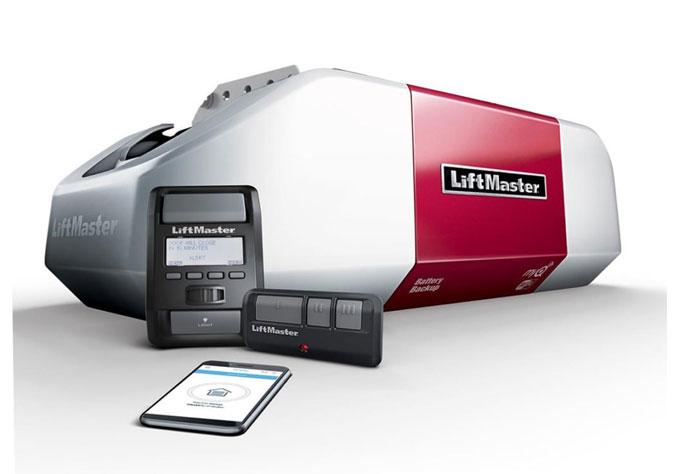 LiftMaster 8587 Garage Door Opener Installed Houston