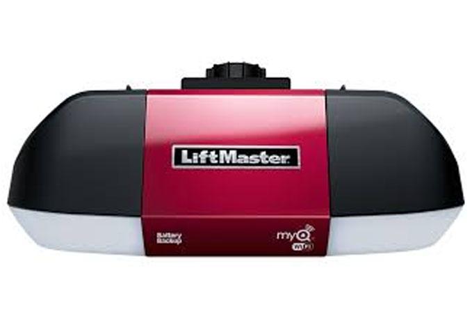 LiftMaster WLED Garage Door Opner Installed Houston